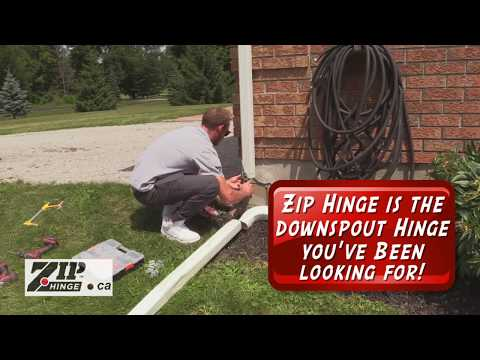 Zip Hinge The Downspout Hinge You Ve Been Looking For Youtube