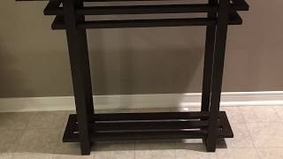 DIY First Console Table