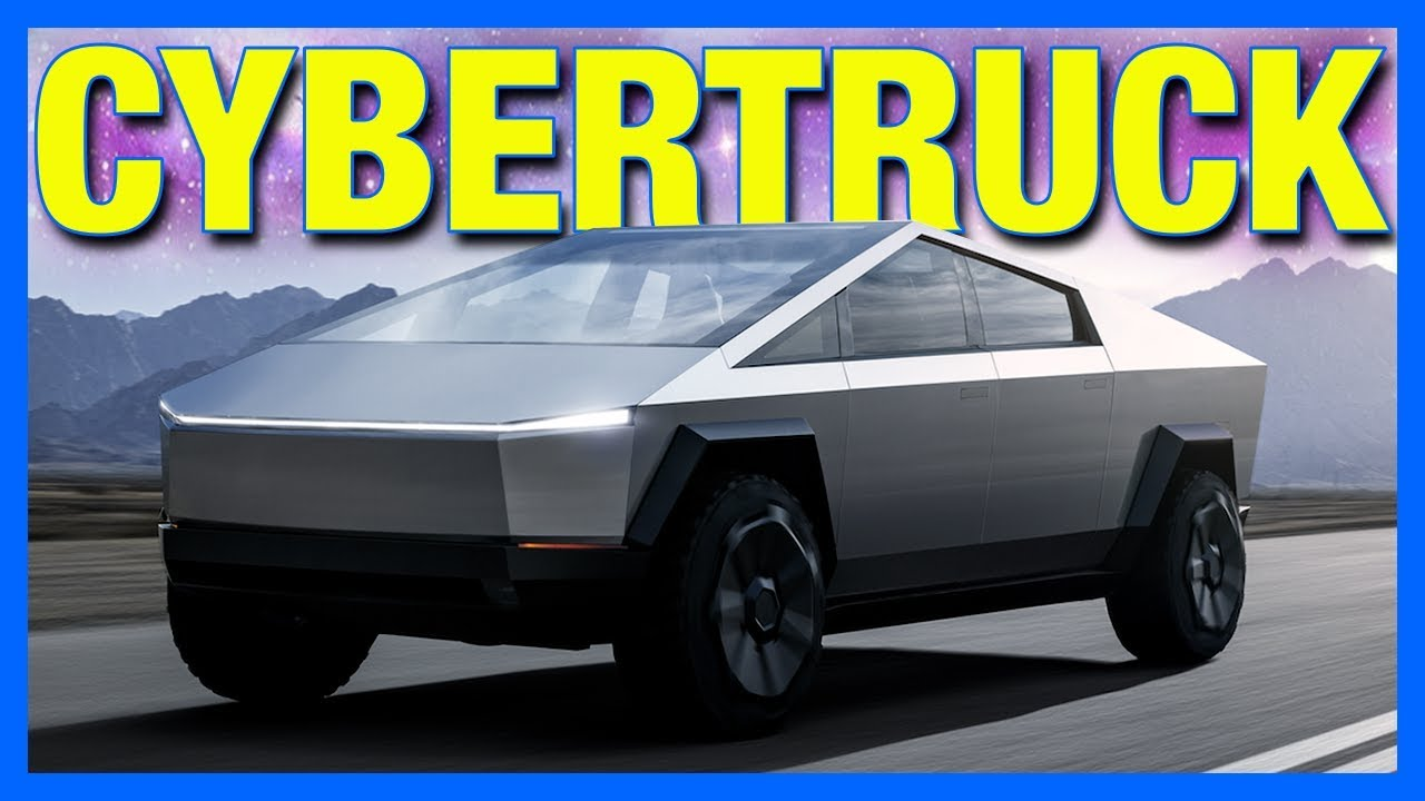The Tesla Cybertruck is UGLY & Ford Mustang Mach E ...
