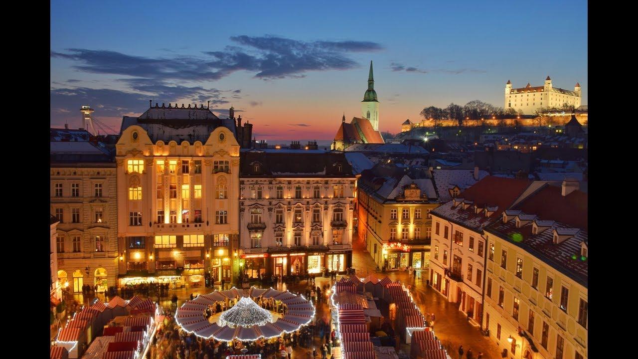 Christmas Bratislava.Best Of Bratislava Christmas Markets 2017 Old Town Bratislavske Vianocne Trhy