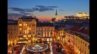 Best of Bratislava Christmas markets 2017 & Old Town (Bratislavské Vianočné trhy)