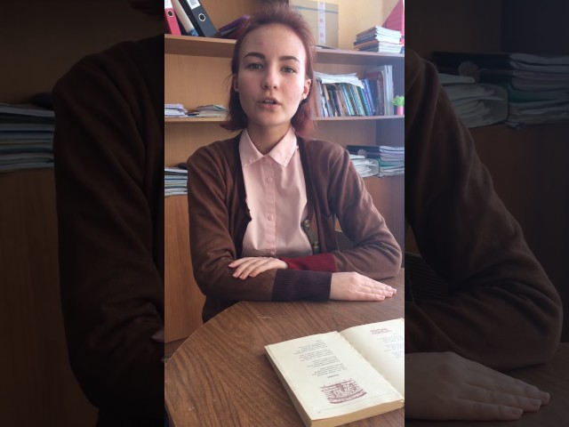 Изображение предпросмотра прочтения – ЕлизаветаПавлова читает произведение «Безумие» Ф.И.Тютчева