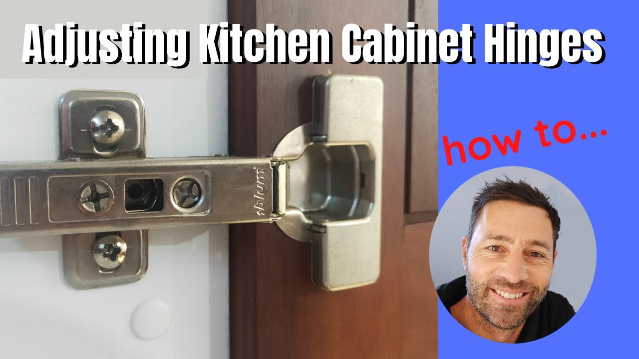 How To Adjust Kitchen Cabinet Doors That Won T Close Inspire Diy Kent Thomas Youtube