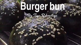 Resep Charcoal Burger Bun