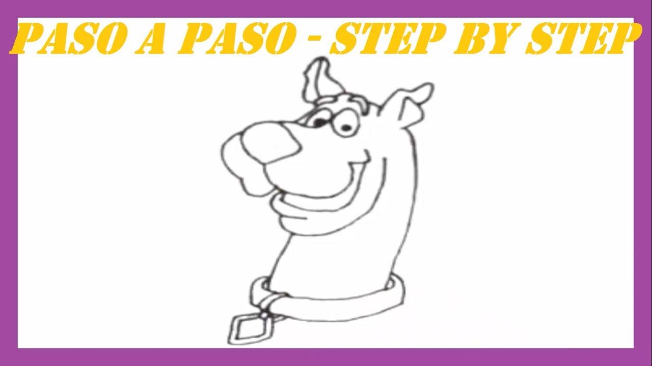 Como dibujar a Scooby Doo l How to draw Scooby Doo - YouTube