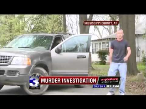 Crazy Man Pulls Gun on Reporter