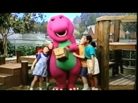 Barney comes to life all mixed up barney s 1 2 3 4 seasons and