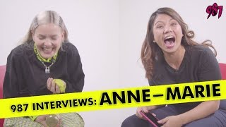 987 Interviews Anne-Marie