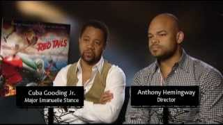 Red Tails Interview - Cuba Gooding Jr. And Anthony Hemingway