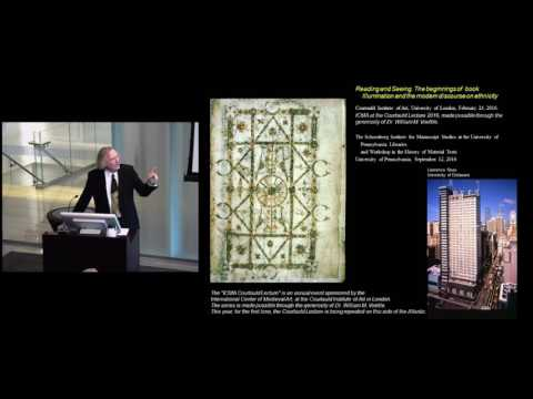 Reading and Seeing: a lecture by Larry Nees