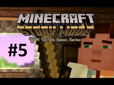 Minecraft Story Mode : Episode 1  - #5 : KOTA HANCUR LEBUR! (Indonesia)