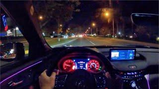 2021 Acura TLX A-Spec SH-AWD POV Night Drive (3D Audio)(ASMR)
