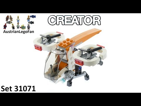 Lego Creator 31071 Drone Explorer - Lego Speed Build Review