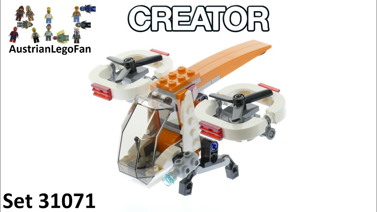 NEW LEGO Creator 31071 Drone Explorer