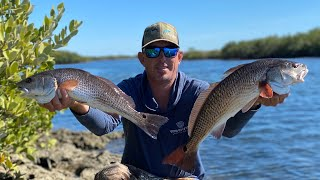 REDFISH Catch Clean & Cook (COOKING ON A ISLAND )