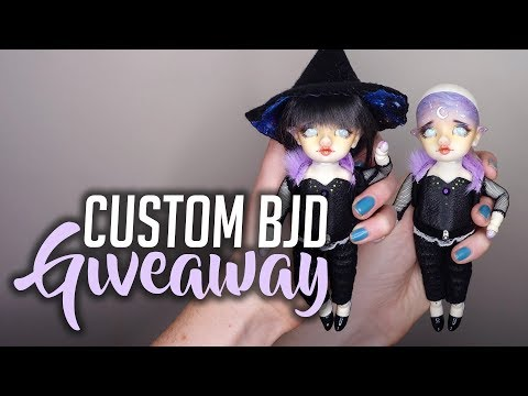BJD GIVEAWAY - Win a Custom Doll! [Faceup Creation]