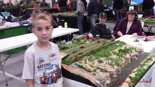 HO Scale Model Farm in the Wisconsin Dells
