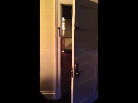 REDRUM in room 411 of the Stanley Hotel & REDRUM in room 411 of the Stanley Hotel - YouTube