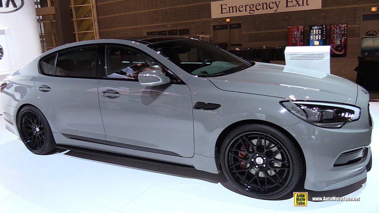 Cars That Start With J >> 2015 KIA K900 Customized - Exterior Walkaround - 2015 Chicago Auto Show - YouTube