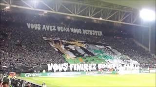 RÉSUMÉ DE L'AMBIANCE LORS DU MATCH ASSE 2-0 LYON !