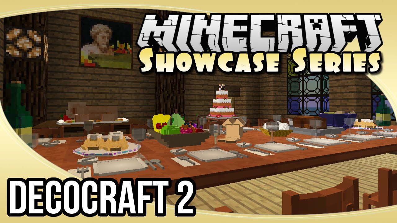 Decocraft 2 1 decorative items props mod the for Deco xbox one