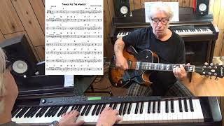 Thanks For The Memory - Jazz guitar & piano cover ( L. Robin & R. Rainger )