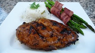 Grilled Hawaiian Chicken, Easy Recipe,