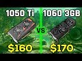 GTX 1050 Ti vs GTX 1060 3GB IN 2020 ft. i5-9400F