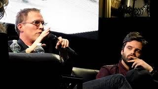 Sebastian Stan & Paul Bettany Marvel Infinity Wars panel @ RICC 2017