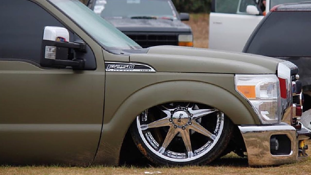 Jonathan S Bagged Amp Doored Ford F250 Youtube