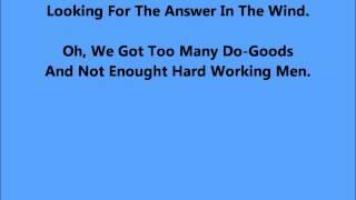 Too Many Do-Goods - ( With Lyrics to follow).wmv YouTube Videos