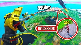 Top 25 LUCKIEST Fortnite Trickshots OF ALL TIME!