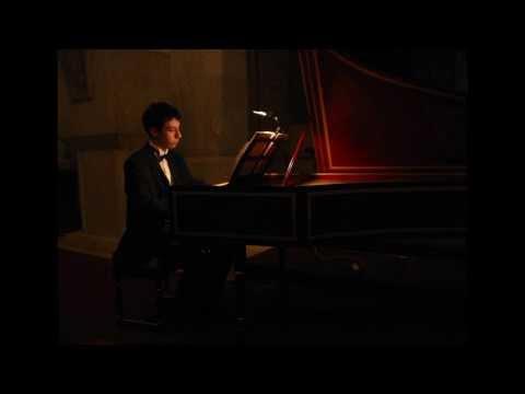 J. S. Bach: Italian Concerto, BWV 971: Presto, Pavao Masic, harpsichord