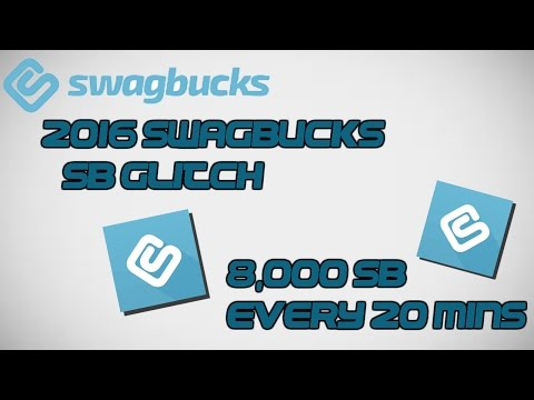 2016 SWAGBUCKS SB GLITCH (THOUSANDS OF SB POINTS EVERY HOUR) | WORKING AUGUST 2016