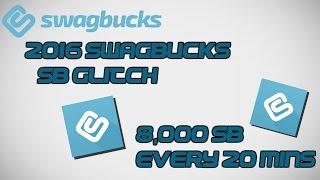 2016 SWAGBUCKS SB GLITCH (THOUSANDS OF SB POINTS EVERY HOUR) | WORKING 2017