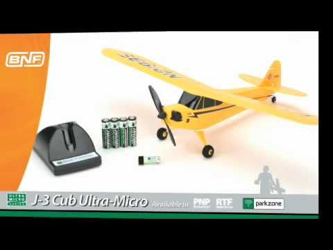 Ultra Micro J 3 Cub Rtf And Bnf By Parkzone Youtube