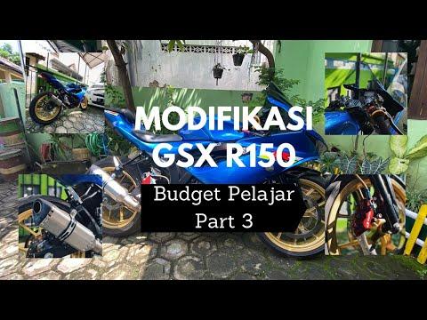 Modifikasi Simple GSX R150 Budget Pelajar #Part 3