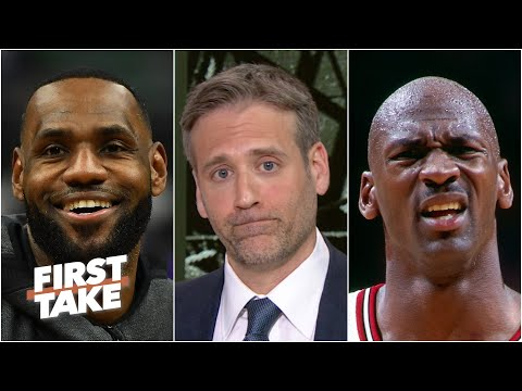 Does LeBron pass Michael Jordan if he wins this year's title?  First Take