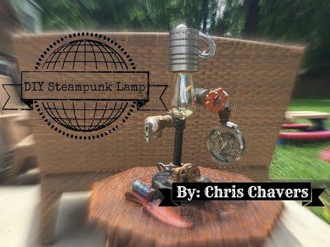DIY STEAMPUNK LAMP