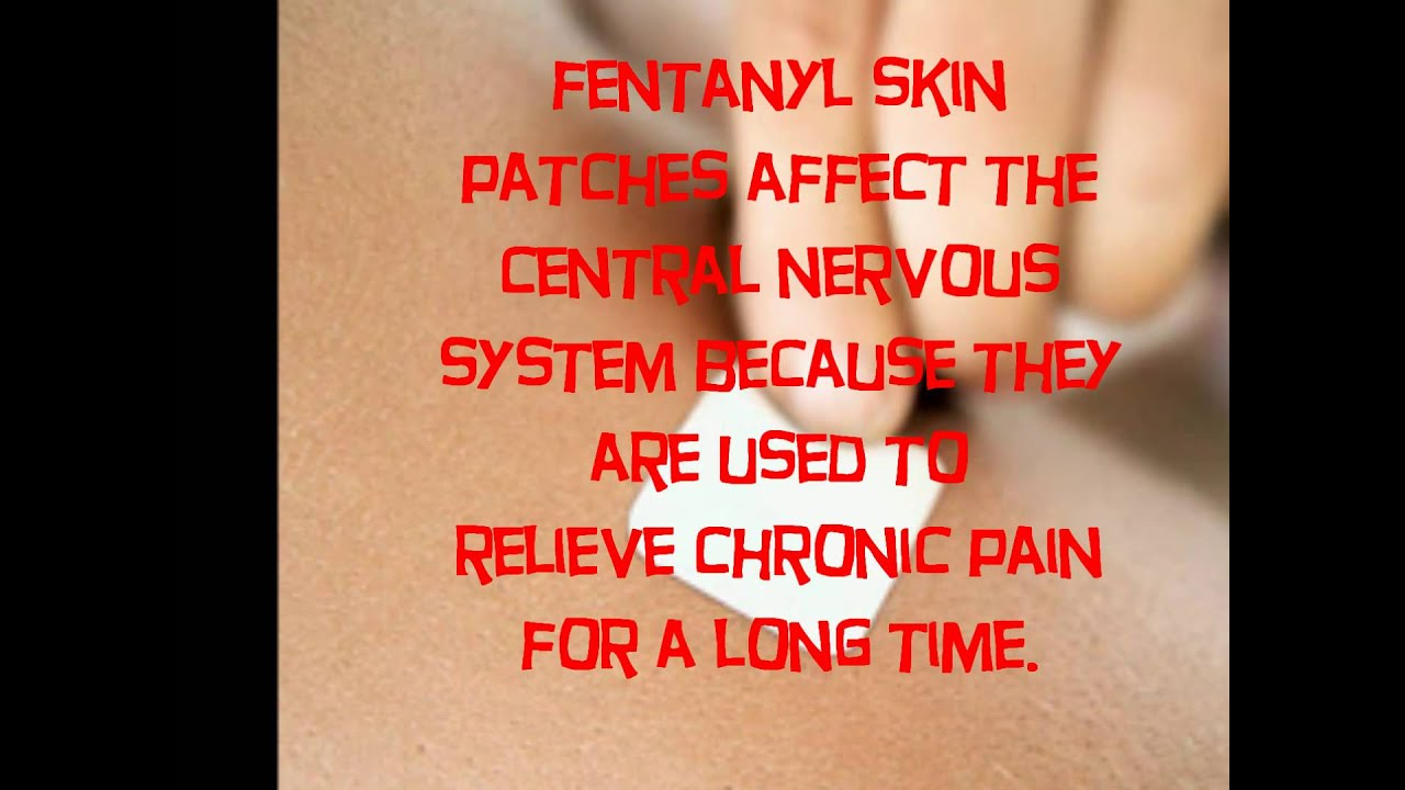 how to prepare fentanyl patch for injection