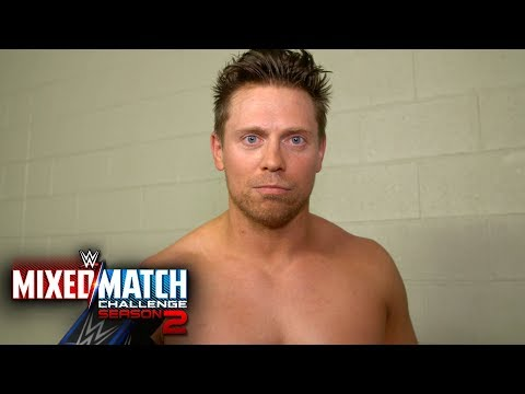 The Miz blames Asuka for their Mixed Match Challenge loss