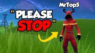 I'm GOING To MrTop5's House... (Fortnite)