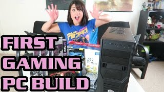 ♥ Girl Builds Her First Gaming PC!!