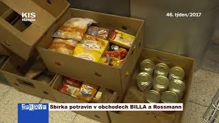 Sbírka potravin v obchodech BILLA a Rossmann