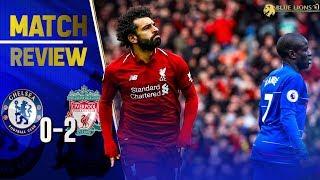 Liverpool 2-0 Chelsea    WE AREN'T ON LIVERPOOLS LEVELS...yet