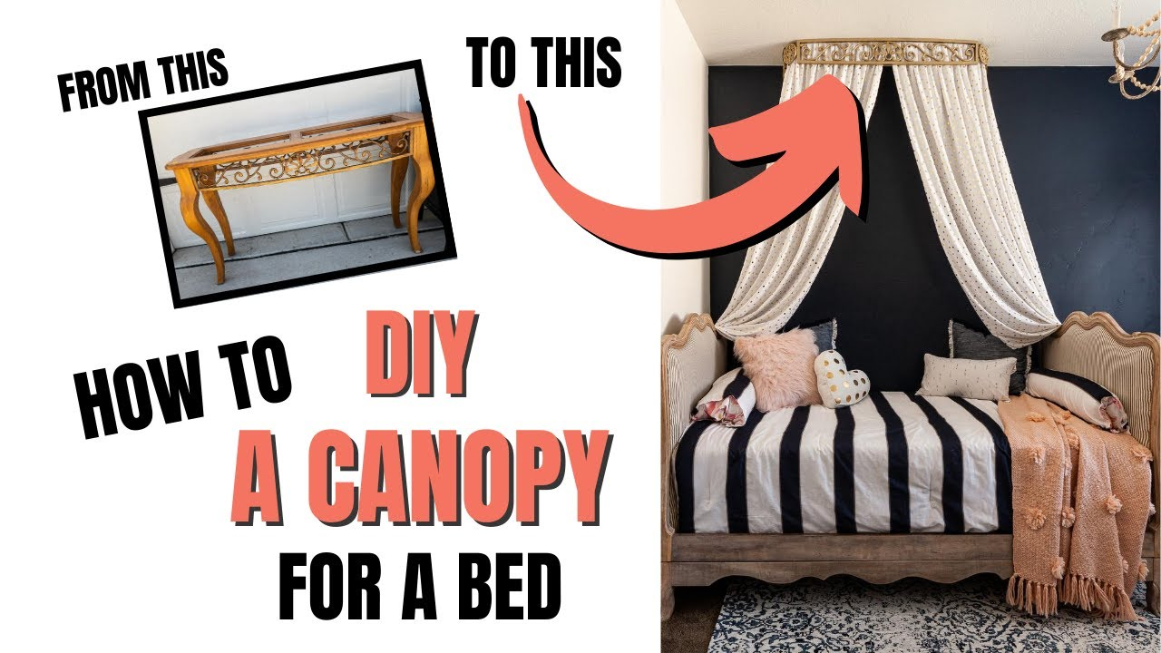 diy canopy for a bed fit for a
