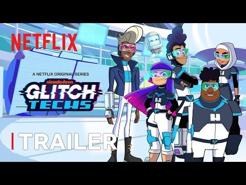 Glitch Techs New Series Trailer | Netflix Futures