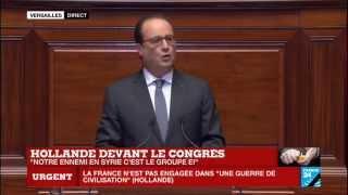 """François Hollande : """"La Syrie est la plus grande fabrique de terroristes que le monde ait connue"""""""