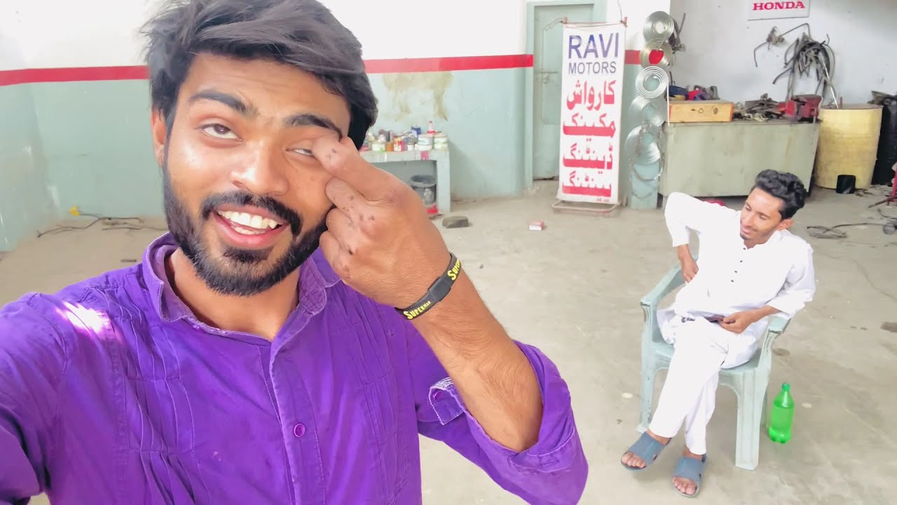 My First Vlog Car Restoration Modification | The Ravi Motors
