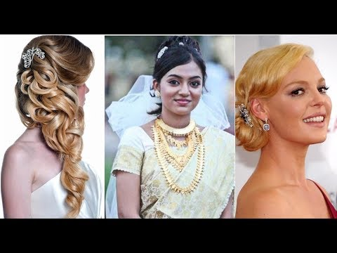 Latest Bridal Hairstyles Wedding Hairstyles Christian Wedding